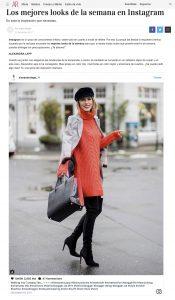 los mejores looks de la semana en Instagram ar revista com - 2017 12 22 - Alexandra Lapp - found on http://www.ar-revista.com/moda/news/a2601/los-mejores-looks-de-la-semana-instagram-diciembre/