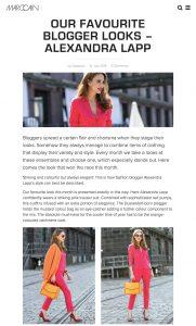 our favourite blogger looks alexandra lapp - Marc Cain Blog - marc cain com - 2018 07 12 - Alexandra Lapp - found on https://www.marc-cain.com/blog/en/our-favourite-blogger-looks-alexandra-lapp/