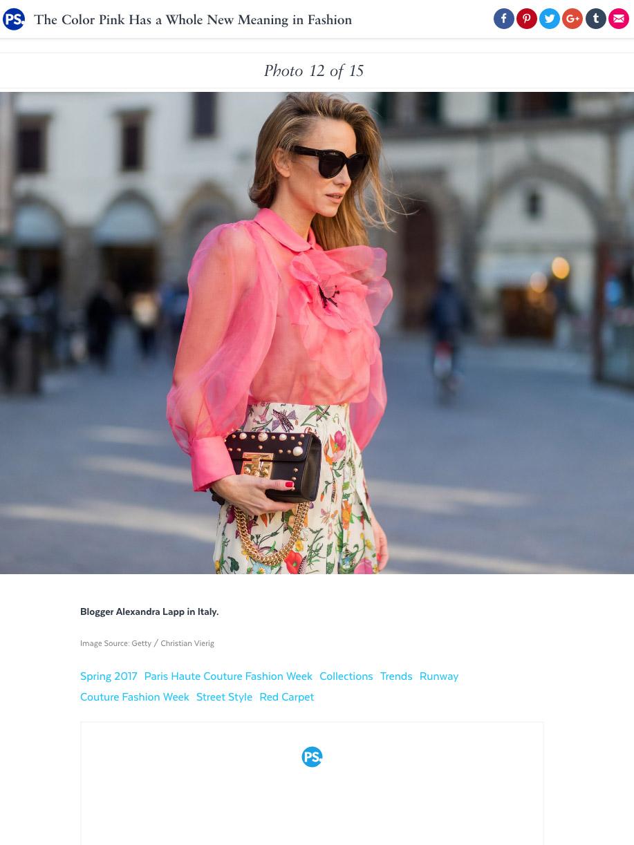 Alexandra Lapp Street Style - Found on http://www.popsugar.com/fashion/photo-gallery/43064936/image/43064943/Blogger-Alexandra-Lapp-Italy