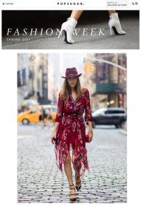 Alexandra Lapp Street Style at New York Fashion Week 2016 - Photo by Christian Vierig - Found on www.popsugar.com