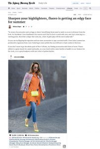 Sharpen your highlighters fluoro is getting an edgy face for summer - The Sydney Herald - 2017 10 - Alexandra Lapp - found on http://www.smh.com.au/lifestyle/fashion/sharpen-your-highlighters-fluoro-is-getting-an-edgy-face-for-summer-20170912-gyfwjg.html
