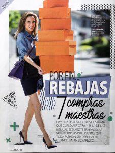stilo -magazine Spain - 2018 07 - No. 87 Page 88 - por fin rebajas - Alexandra Lapp