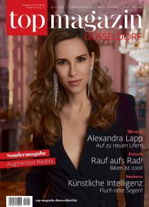 topmagazin Düsseldorf - 201 01 - Nr. 01 Cover - Alexandra Lapp