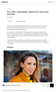 vogue.cz - 2020 01 22 - Alexandra Lapp - found on https://www.vogue.cz/clanek/fashion/doplnky/julia-silajdzic/ear-cuffs-navrat-ve-velkem-stylu