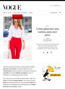 VOGUE Mexico - 2019 03 15 - Alexandra Lapp - found on https://www.vogue.mx/moda/articulo/como-planchar-una-camisa