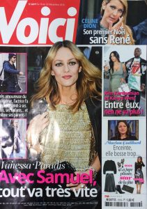 Alexandra Lapp in Voici Magazine - Cover - http://www.voici.fr/