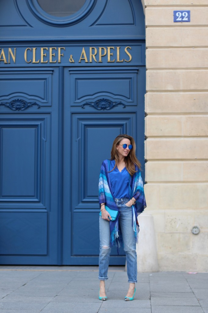 Alexandra Lapp wearing Missoni, Levis, 0039 Italy, Manolo Blahnik, Chanel, Mikita
