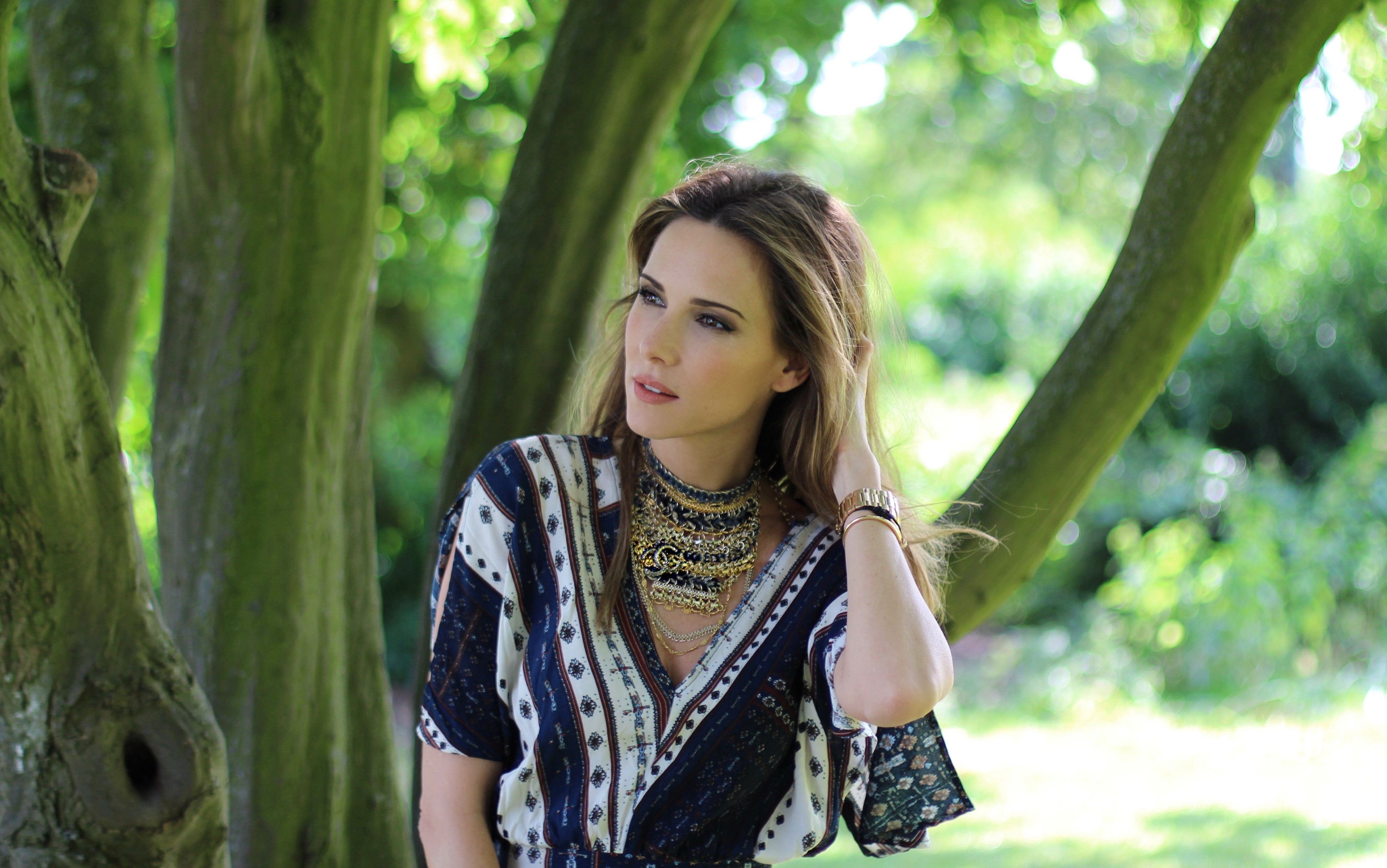 65544fe4e6 ... H M · Alexandra Lapp wearing Boho Chic