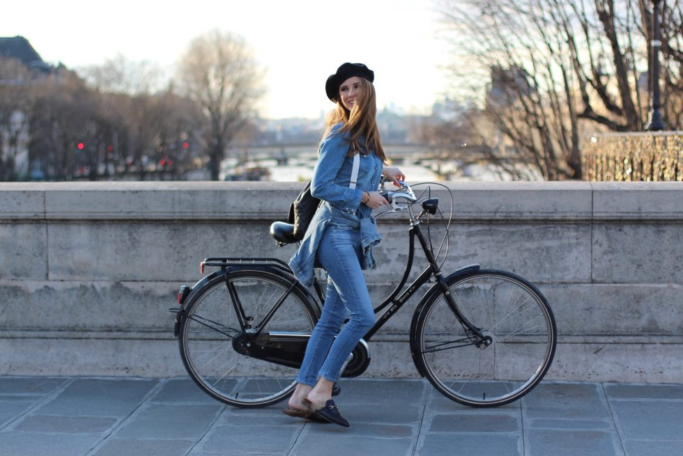 Alexandra Lapp wearing Gucci, Chanel, Chanel vintage, Asos, H&M, AG Jeans, Levi's