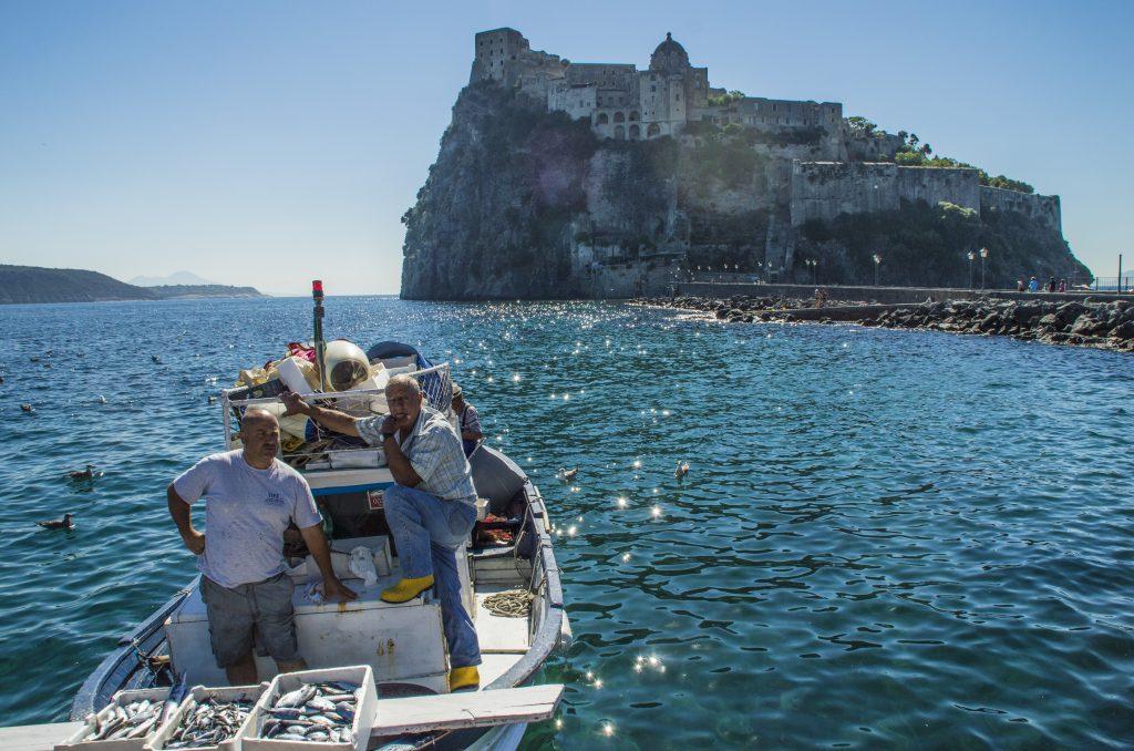 Castello Aragonese - pescatori