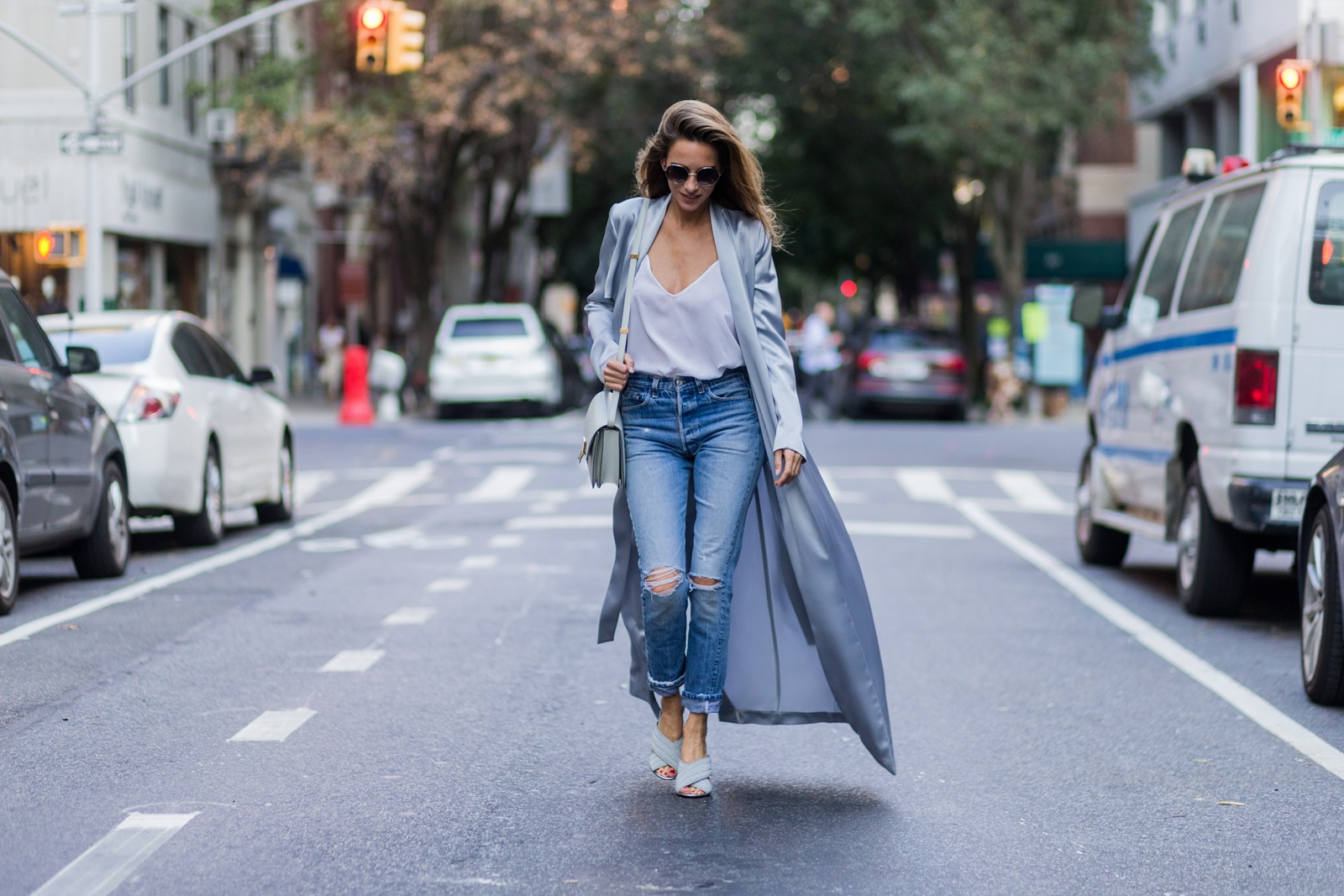 29992429 ... NY - SEPTEMBER 13: German fashion blogger and model Alexandra Lapp (