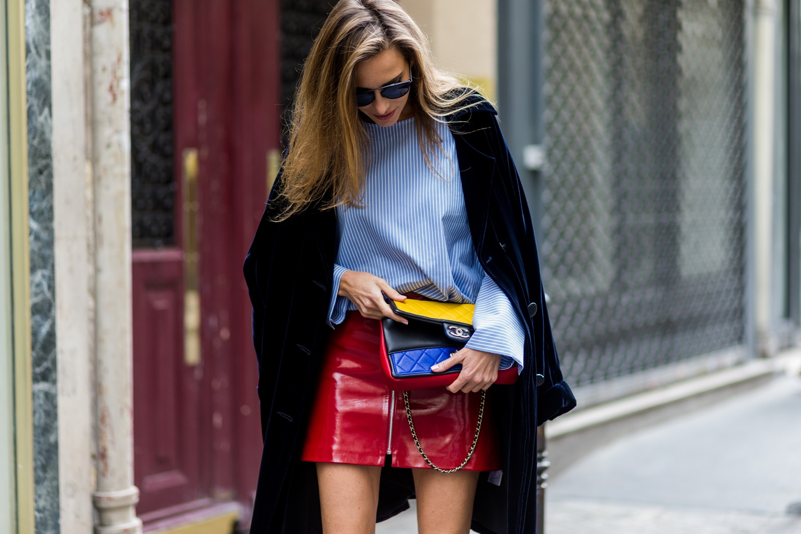 Image result for fashion bloggers pfw