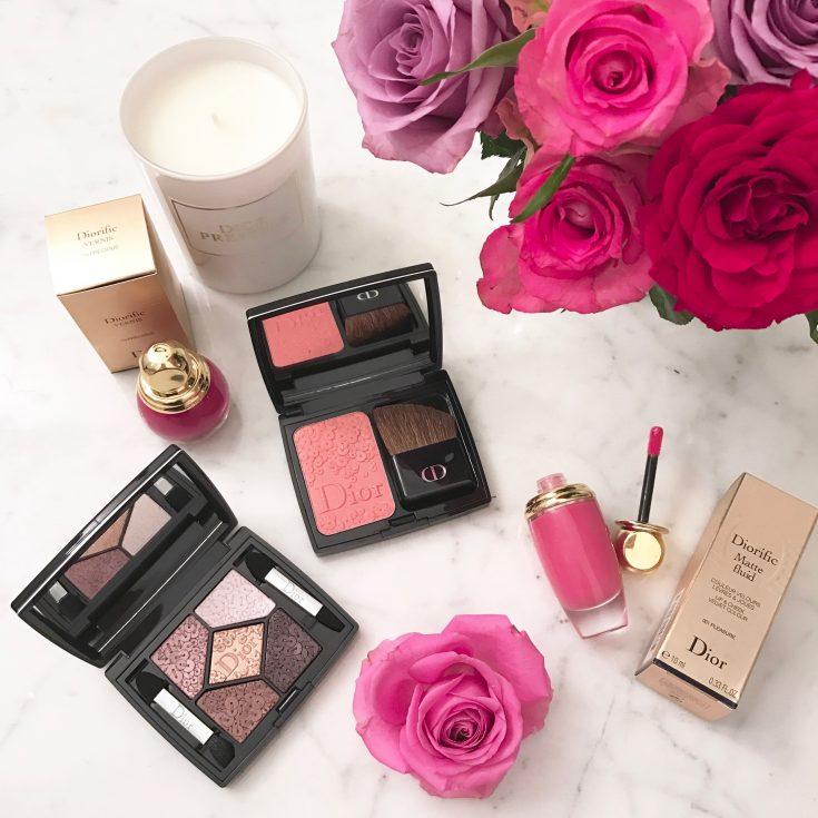 Alexandra Lapp wearing Dior Cosmetics