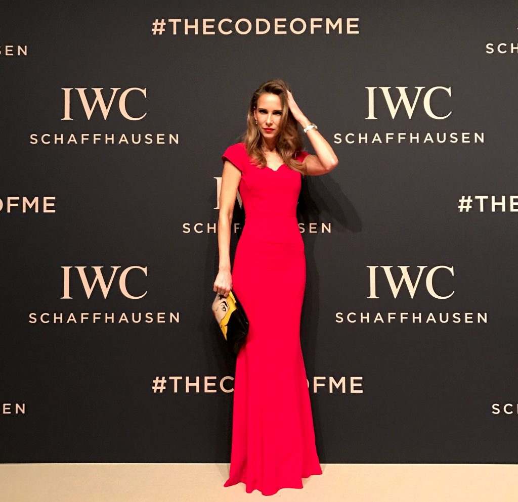 """GENEVA, SWITZERLAND - JANUARY 17: Alexandra Lapp attend the IWC Schaffhausen """"Decoding the Beauty of Time"""" Gala Dinner during the launch of the Da Vinci Novelties from the Swiss luxury watch manufacturer IWC Schaffhausen at the Salon International de la Haute Horlogerie (SIHH) on January 17, 2017 in Geneva, . (Photo by Chris Jackson/Getty Images for IWC) *** Local Caption *** Alexandra Lapp"""