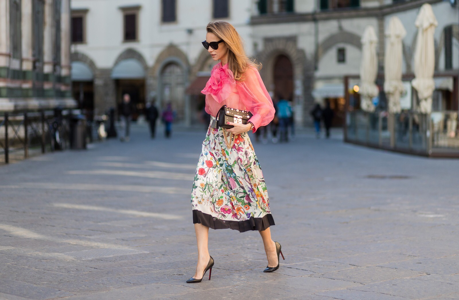 a0ab417fc5 ... wearing · FLORENCE, ITALY - JANUARY 11: German fashion blogger and  model Alexandra Lapp is wearing ...