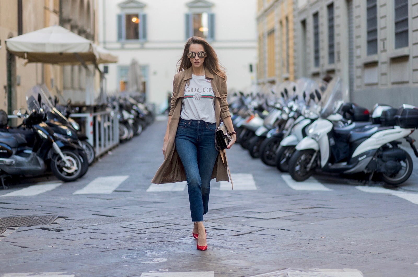 2d6bb45d ... ITALY - JANUARY 11: German fashion blogger and model Alexandra Lapp is  wearing · «