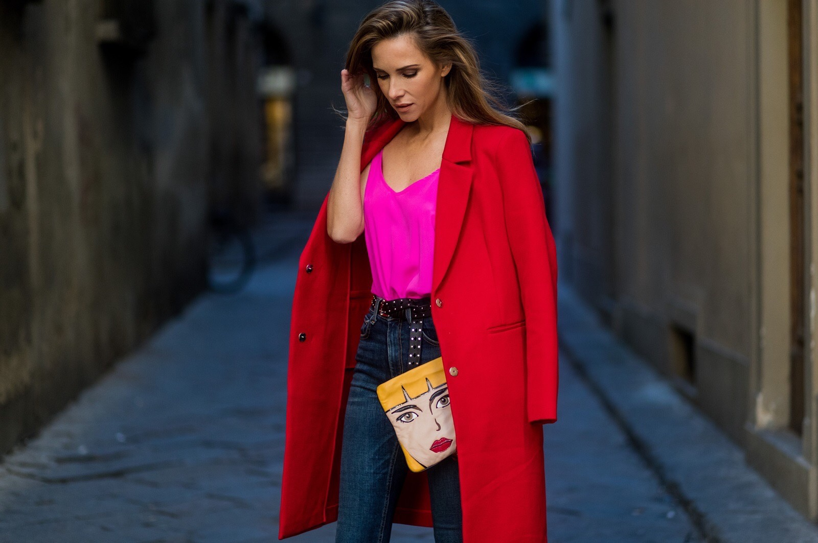 RED BLAZER COAT , Blog , Alexandra Lapp