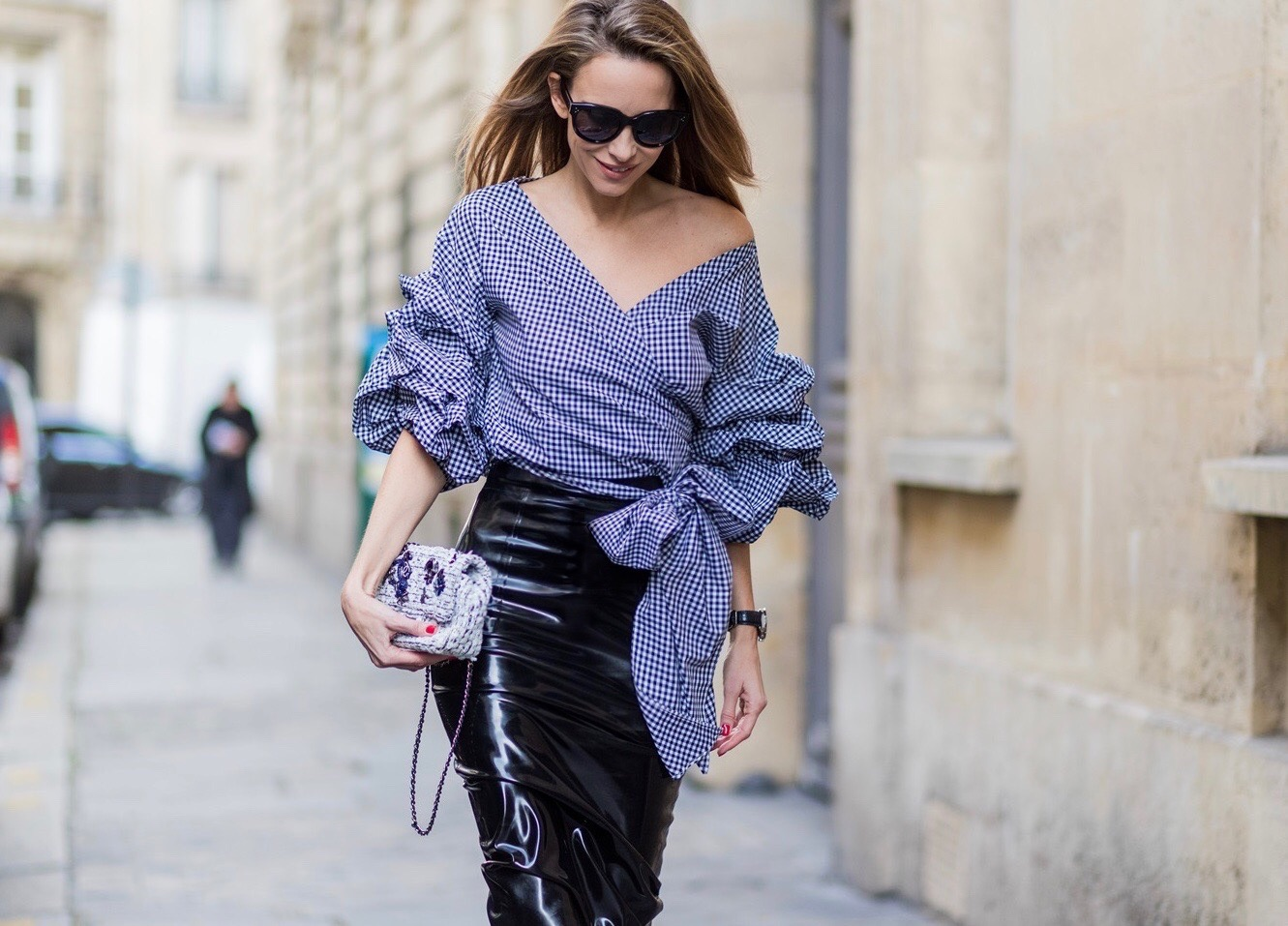 How to ruched wear sleeve top