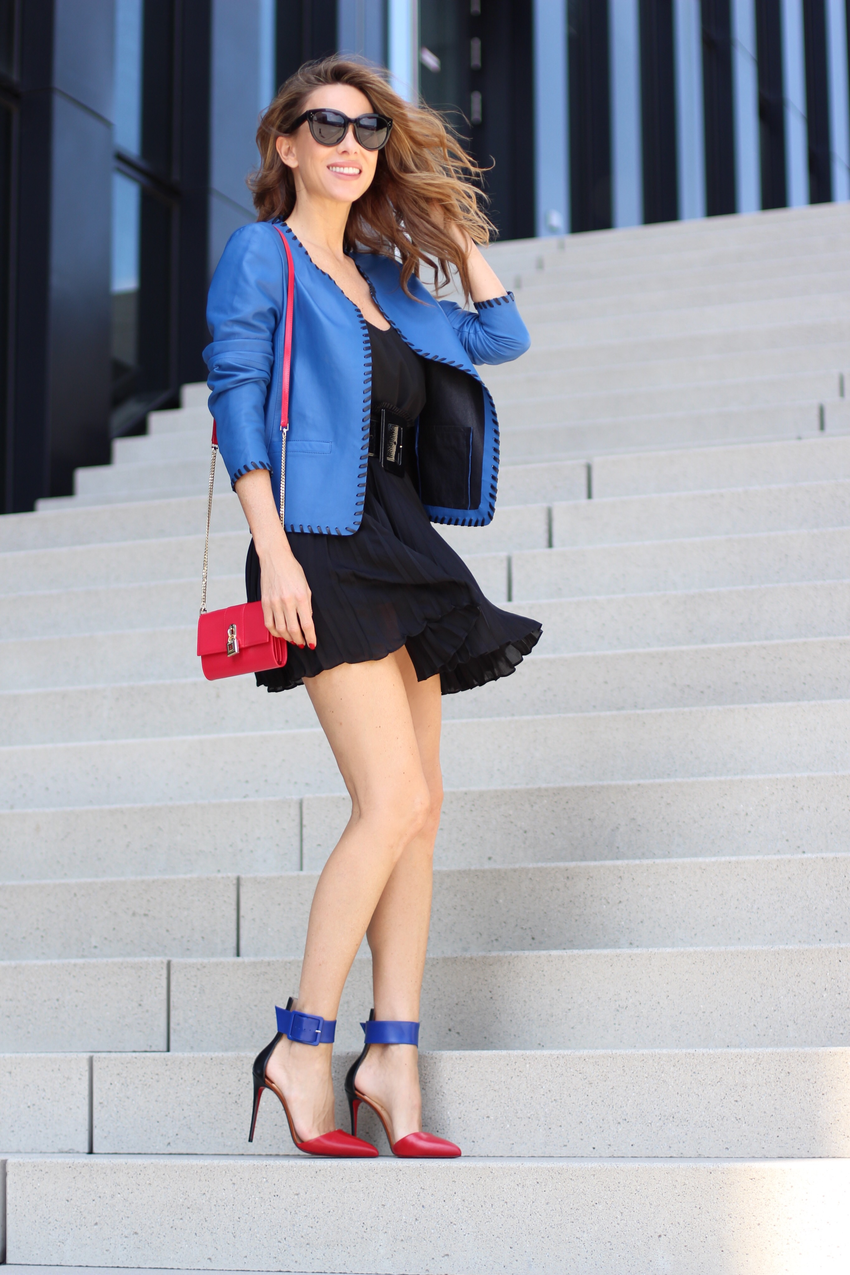 Alex Pleat Skirt Coat