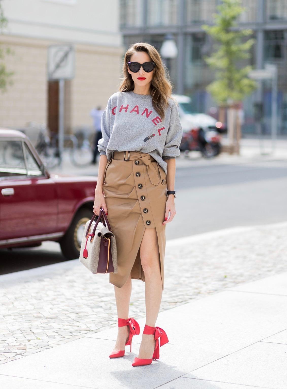 Chanel Berlin vintage sweater chanel alexandra lapp
