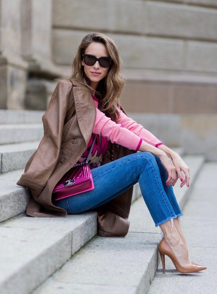 leather coat riani blog alexandra lapp