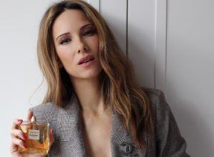 Alexandra Lapp using the new Gabrielle Chanel Fragrance from Chanel Parfum.