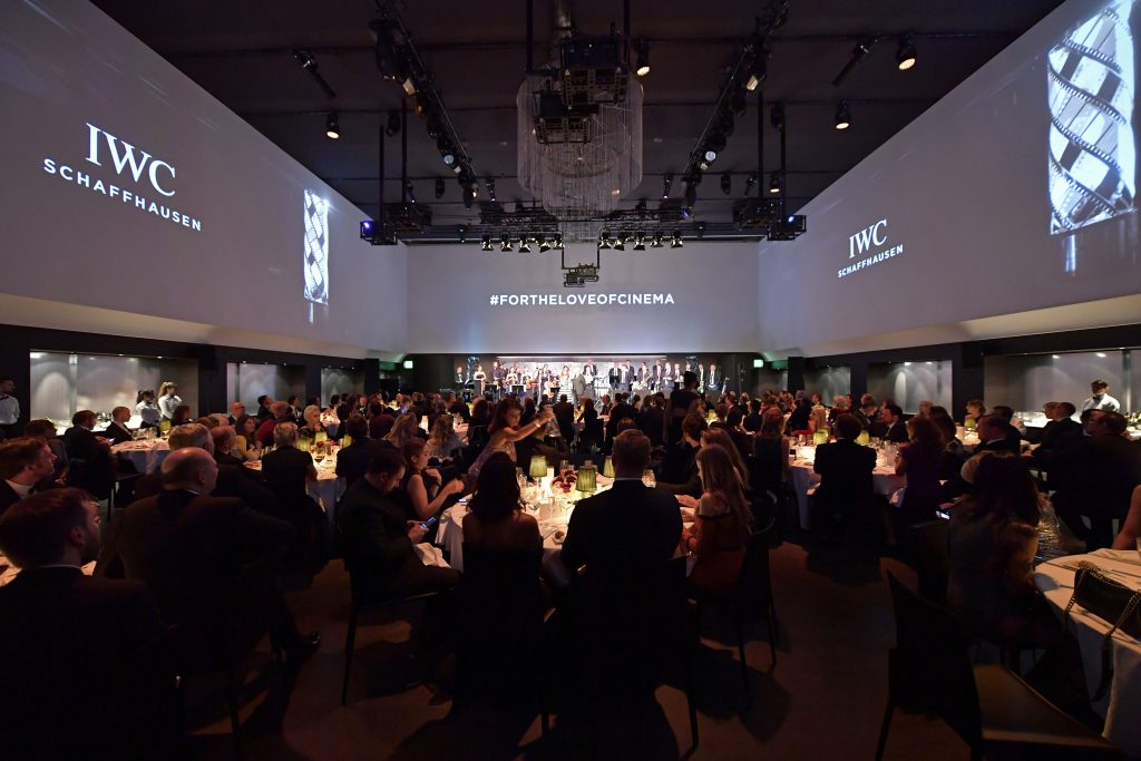 ZURICH Film Festival, SWITZERLAND - SEPTEMBER 30: A general view at the IWC 'For the Love of Cinema' Gala Dinner at AURA Zurich on 30 September, 2017 in Zurich, Switzerland. During the event, actor James Marsden presented the third 'Filmmaker Award', a sponsorship worth CHF 100,000. The award was set up by the Association for the Promotion of Film in Switzerland ('Verein zur Filmförderung in der Schweiz'). (Photo by Harold Cunningham/Getty Images for IWC)