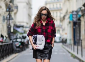 Alexandra Lapp wearing a plaid shirt by Set Fashion, mini leather skirt and a leather belt with studs by Set, oversized MCM Stark Pouch in lambskin, IWC Portugieser Chronograph, open toe ankle boots in silver from Guiseppe Zanotti and Diormania sunglasses by Dior is seen during Paris Fashion Week Spring/Summer 2018 on September 26, 2017 in Paris, France. BILD EINBETTEN LIZENZ 1 of 10 Singer Patricia Manfield wears a Dior hat, dress, shoes and bag day 1 of Paris Womens Fashion Week Spring/Summer 2018, on September 26, 2017 in Paris, France. Singer Patricia Manfield wears a Dior hat, dress, shoes and bag day 1 of Paris Womens Fashion Week Spring/Summer 2018, on September 26, 2017 in Paris, France. BILD EINBETTEN LIZENZ 2 of 10 Fashion blogger Sonya Esman wears Dior sweater, skirt and bag day 1 of Paris Womens Fashion Week Spring/Summer 2018, on September 26, 2017 in Paris, France. Fashion blogger Sonya Esman wears Dior sweater, skirt and bag day 1 of Paris Womens Fashion Week Spring/Summer 2018, on September 26, 2017 in Paris, France. BILD EINBETTEN LIZENZ 3 of 10 Fashion blogger Gala Gonzalez wears a Dior suit, top, bag and shoes day 1 of Paris Womens Fashion Week Spring/Summer 2018, on September 26, 2017 in Paris, France. Fashion blogger Gala Gonzalez wears a Dior suit, top, bag and shoes day 1 of Paris Womens Fashion Week Spring/Summer 2018, on September 26, 2017 in Paris, France. BILD EINBETTEN LIZENZ 4 of 10 Chinese fashion blogger Carrie Lee wears Dior skirt and top Louis Vuitton bag, Balenciaga shoes and earrings she made herself day 1 of Paris Womens Fashion Week Spring/Summer 2018, on September 26, 2017 in Paris, France. Chinese fashion blogger Carrie Lee wears Dior skirt and top Louis Vuitton bag, Balenciaga shoes and earrings she made herself day 1 of Paris Womens Fashion Week Spring/Summer 2018, on September 26, 2017 in Paris, France. BILD EINBETTEN LIZENZ 5 of 10 Fashion blogger Diona Ciobanu wears a Dior dress, hat, bag, shoes and underwear day 1 of Pari