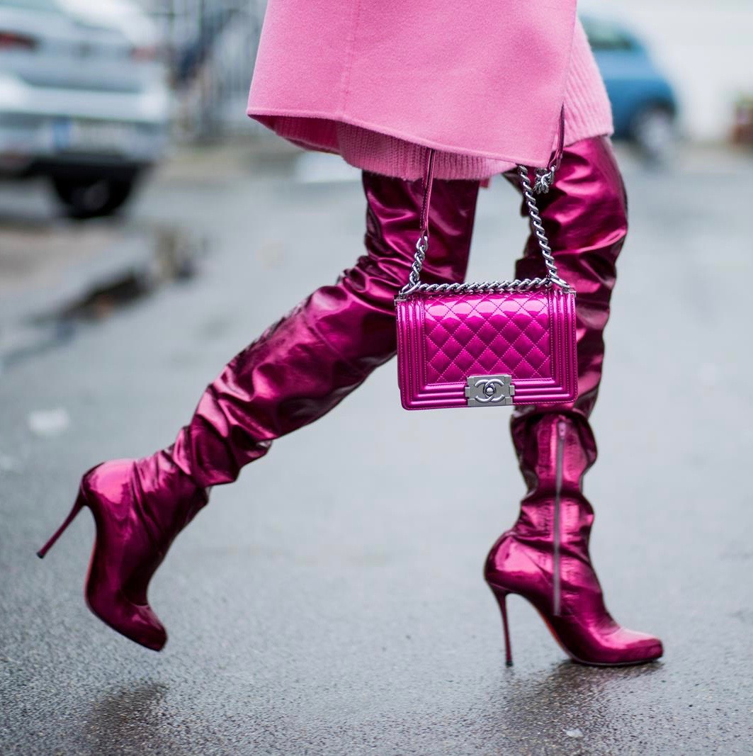 cremefraiche overknee støvler