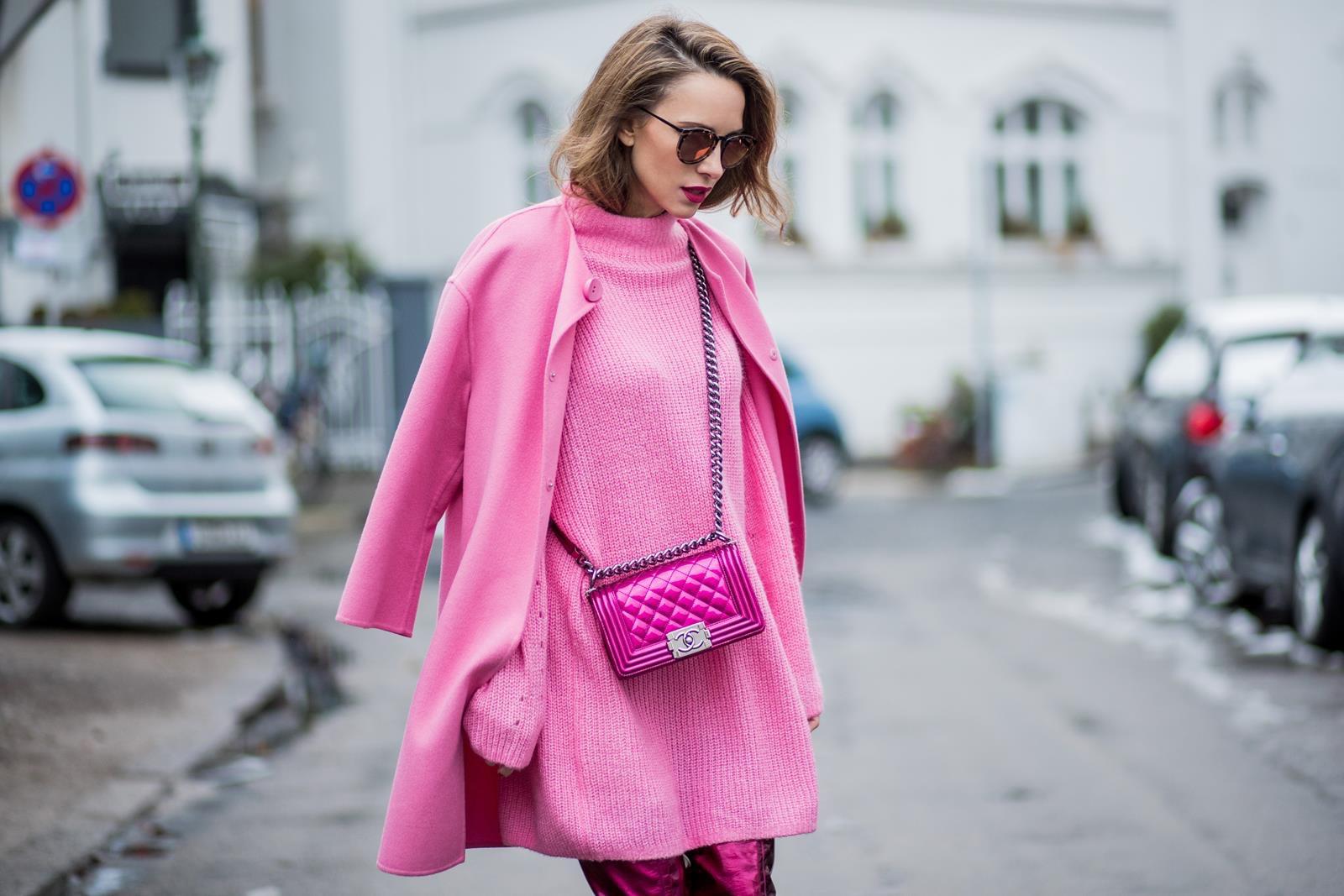 Looks - How to light wear pink dress video