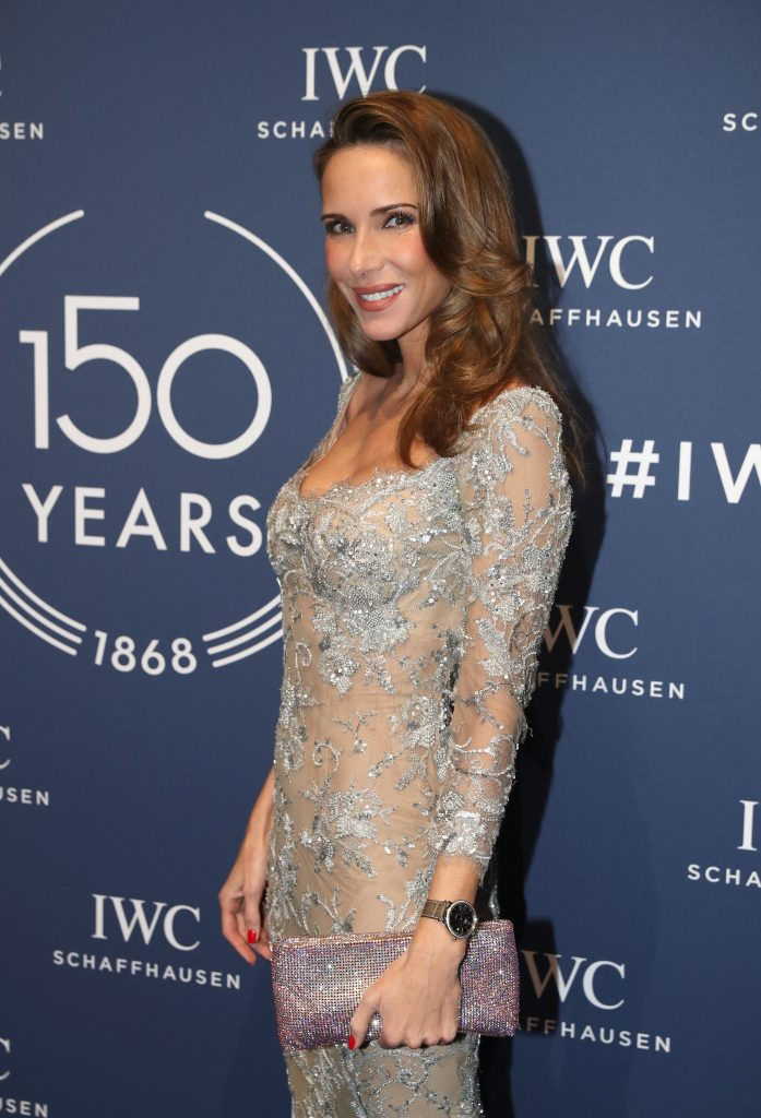 GENEVA, SWITZERLAND - JANUARY 16: 150 YEARS OF IWC SCHAFFHAUSEN, Alexandra Lapp at the IWC Gala night during the Maison's launch of its Jubilee Collection at the Salon International de la Haute Horlogerie (SIHH) on January 16, 2018 in Geneva, Switzerland. #IWC150 (Photo by Harold Cunningham/Getty Images for IWC)