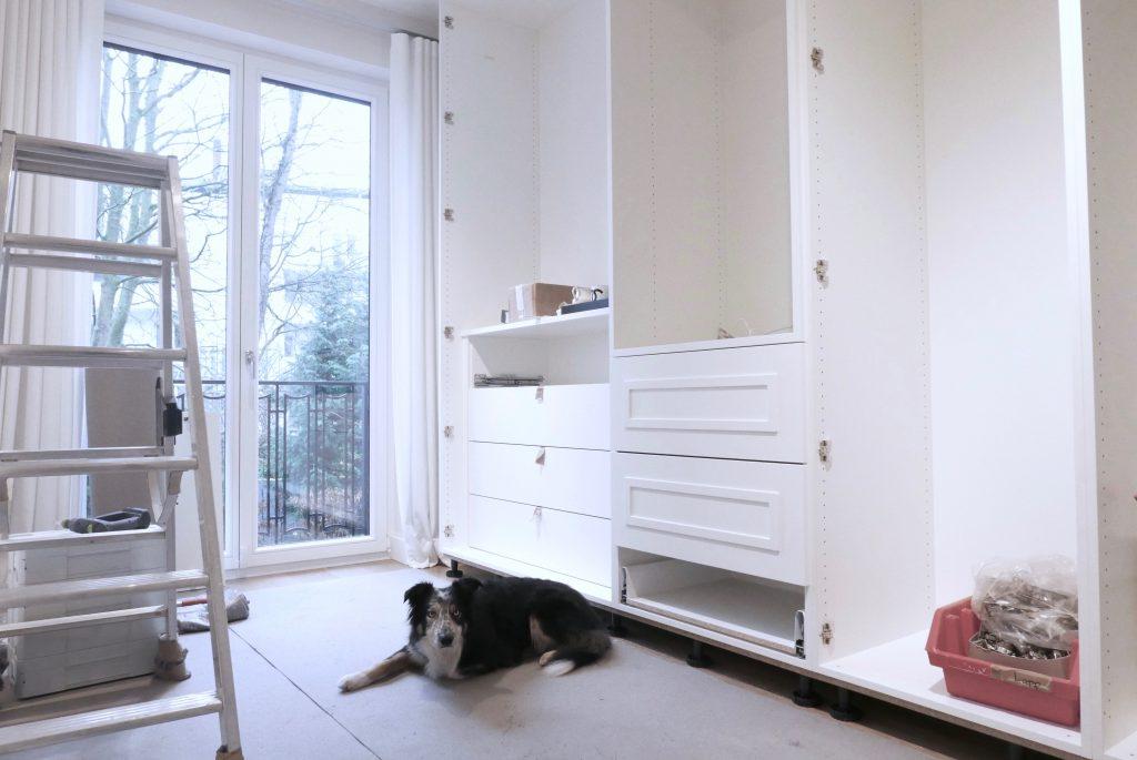 Model and Blogger Alexandra Lapp building her dream closet with More Interior.