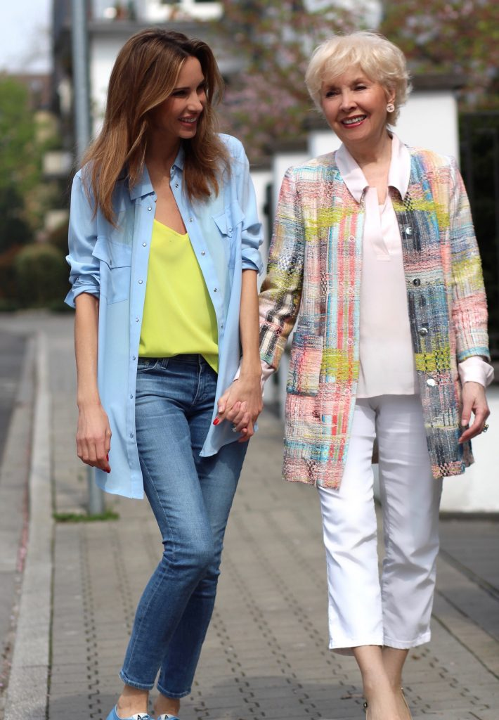 Mother's Day | Alexandra Lapp, Mother and Daughter, enjoying Mother's Day in Düsseldorf, Germany.