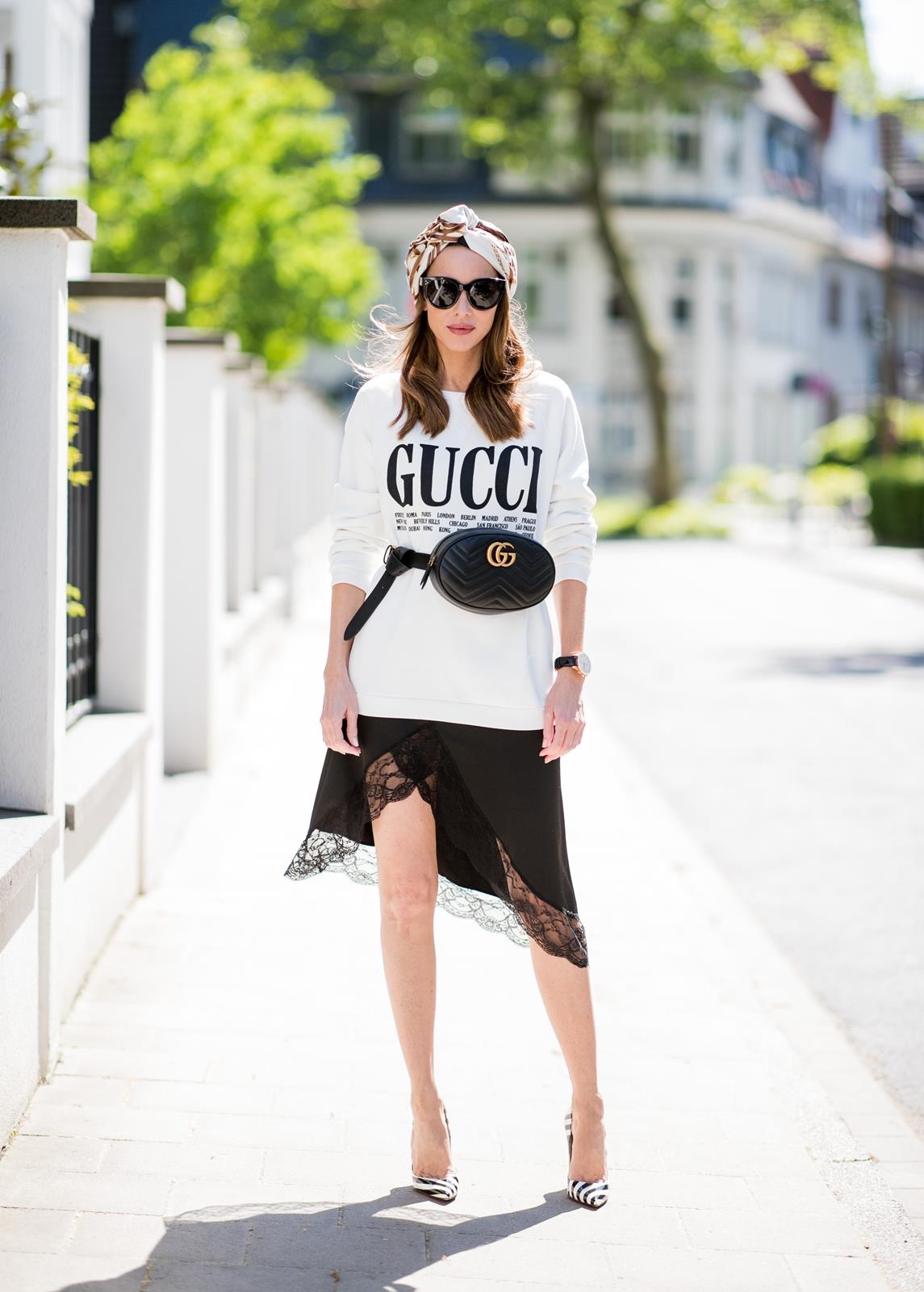 51bd7588b GUCCI BELT BAG | GUCCI STYLE - Blog - Alexandra Lapp