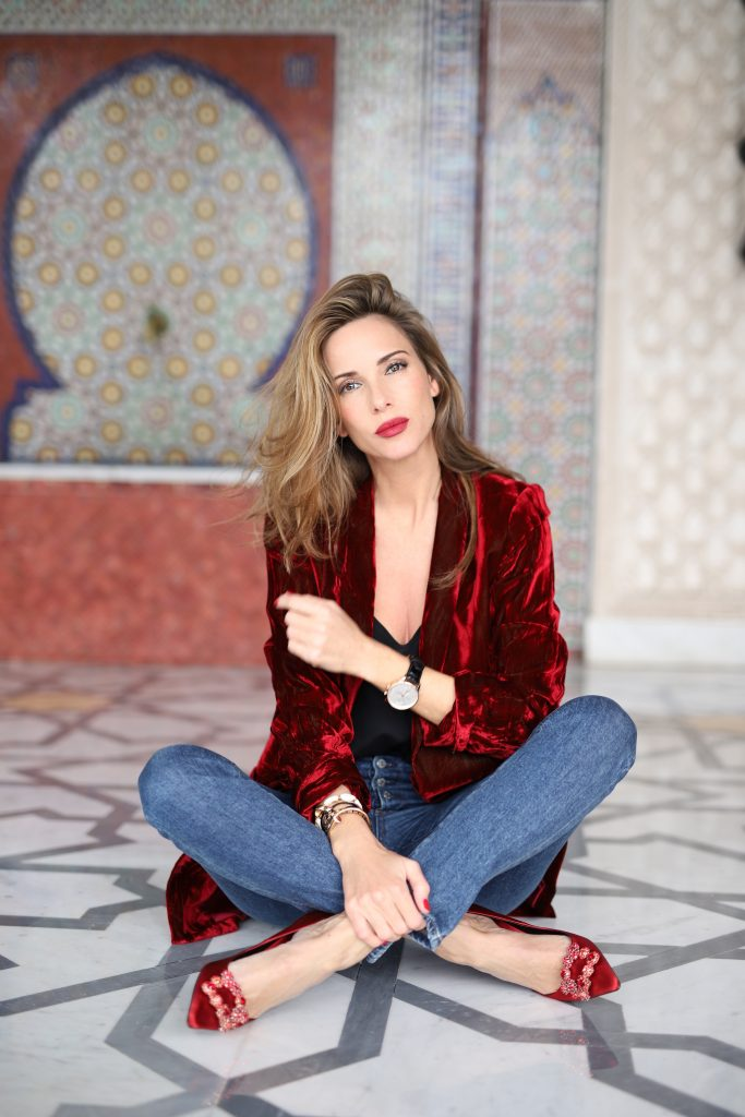 Alexandra Lapp at La Mamounia on November 27, 2018 in Marrakech, Morocco.