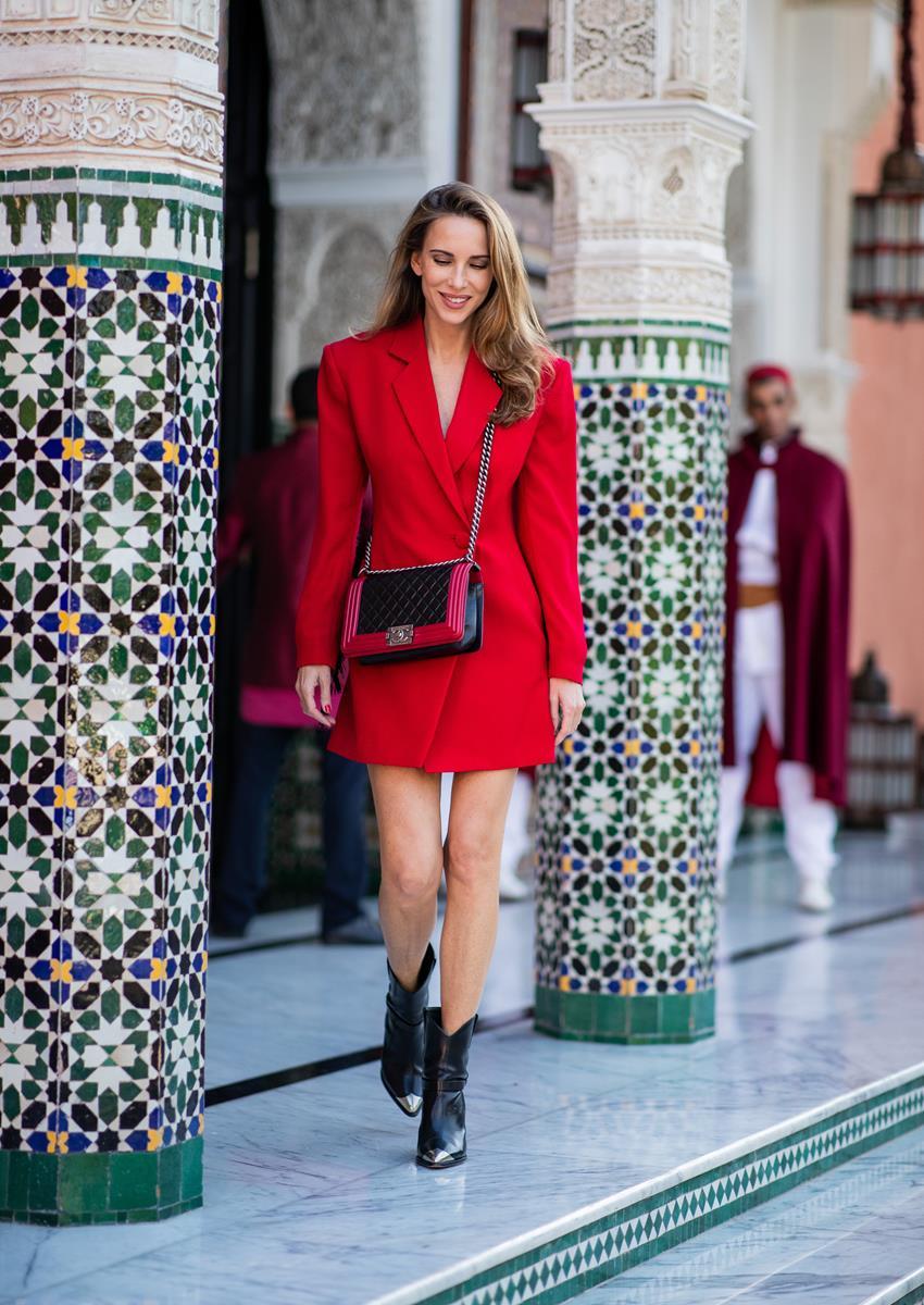 RED BLAZER DRESS , Blog , Alexandra Lapp