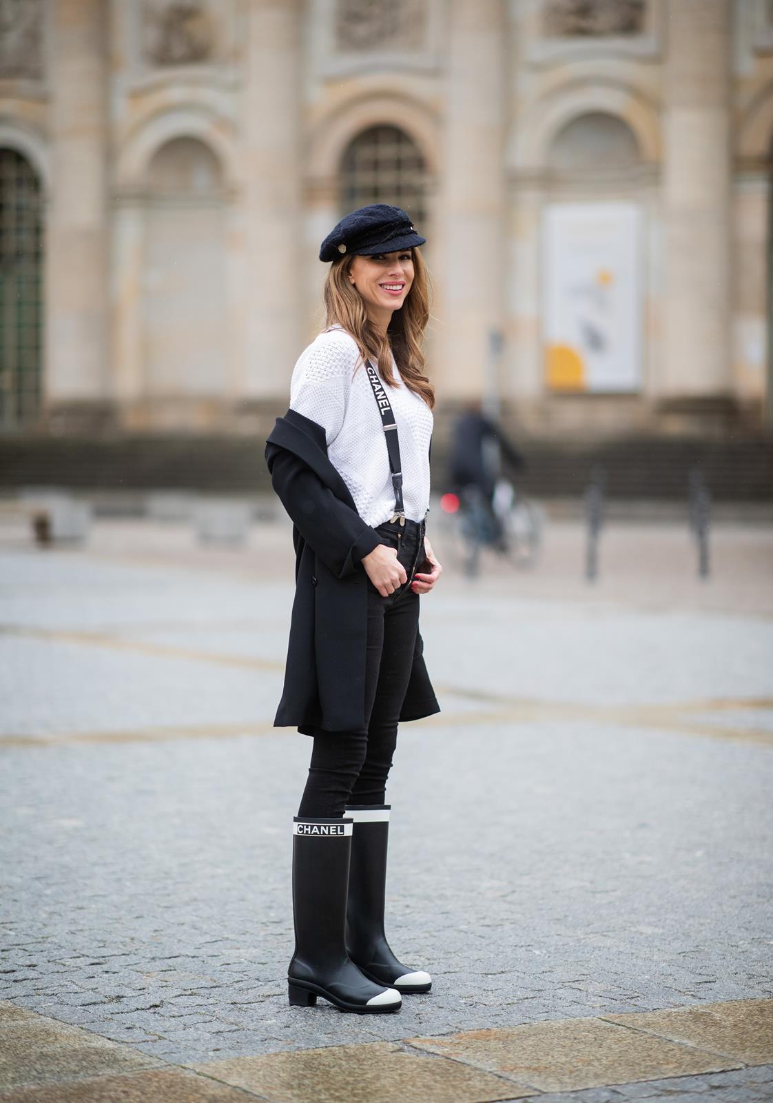 CHANEL RAIN BOOTS - Blog - Alexandra Lapp
