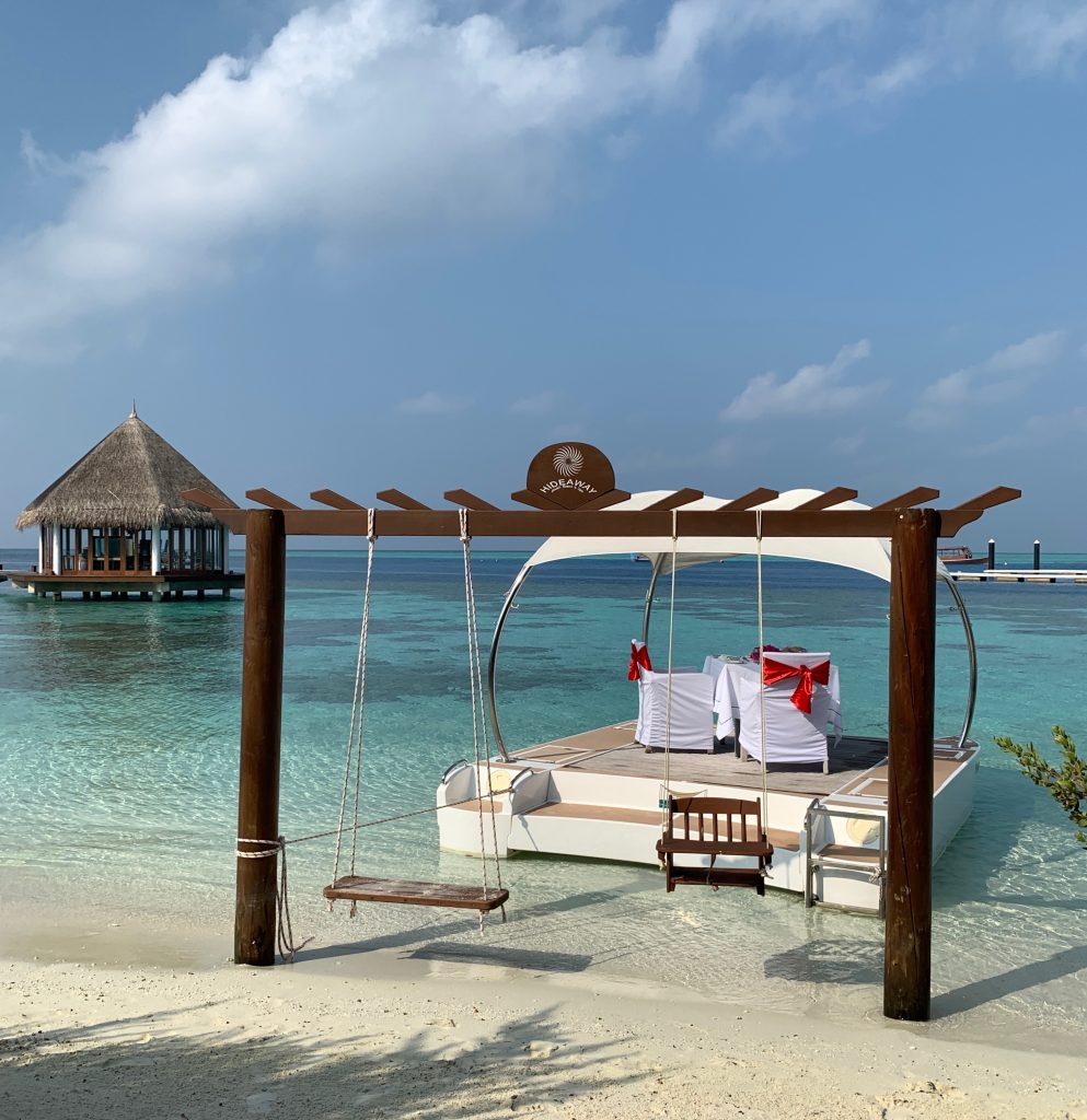 Alexandra Lapp enjoying a perfect time out in paradise, organized by One Luxury at the Hideaway Maldives Beach Resort & Spa