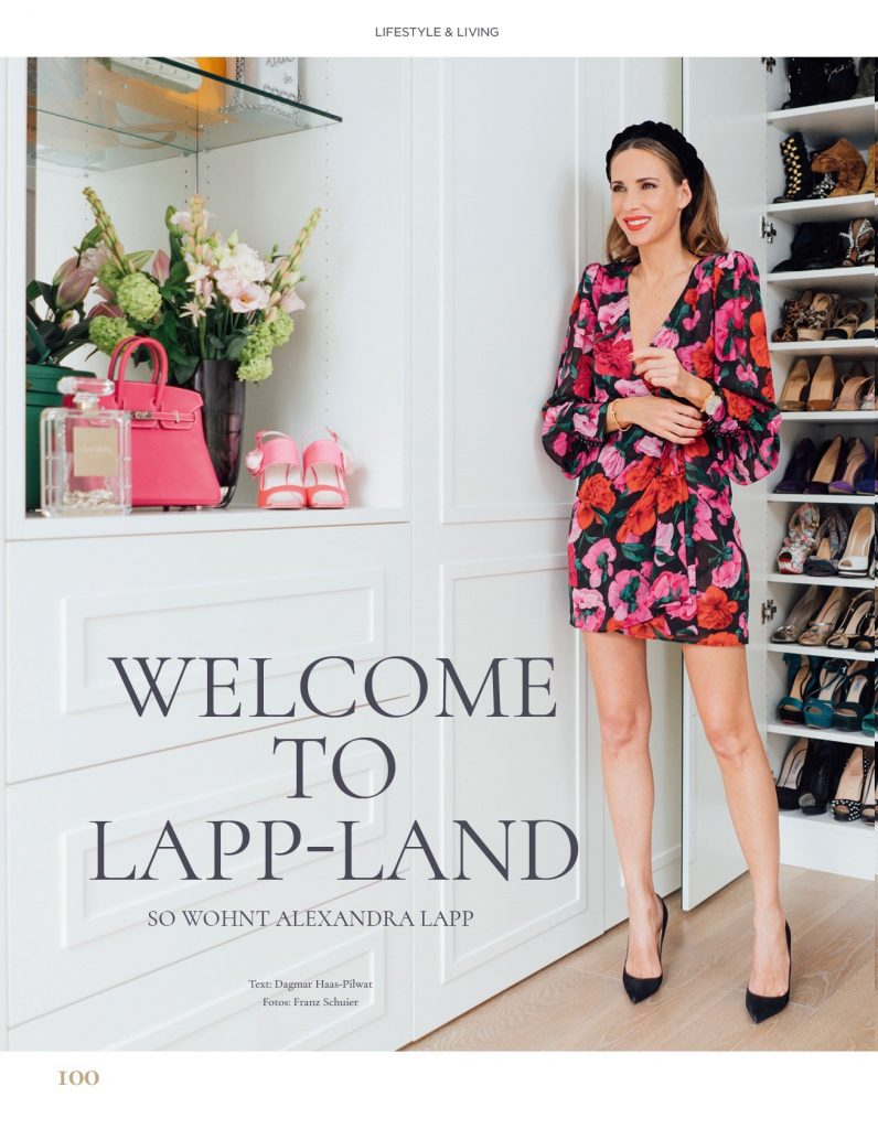 Welcome to Lapp-Land: Alexandra Lapp in her home in Düsseldorf