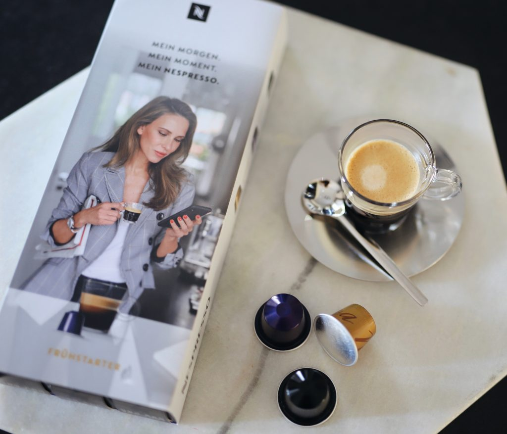Alexandra Lapp and her Nespresso Morning Experience #MeinNespressoMorgen