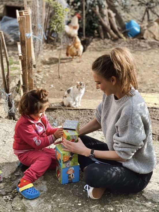 Alexandra Lapp traveling to Tirana, Albania to SOS Kinderdörfer weltweit, an organisation which supports more than 1,5 Mio. people in more than 130 countries of the world. It offers various forms of support such as schools, social centers, medical centers, vocational training centers, SOS Children's Villages and kindergardens.