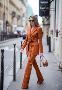 Alexandra Lapp, Altuzarra, Rejina Pyo, Net Sustain, Loewe, Fendi, Net-A-Porter, PFW, Paris Fashion Week, PFW2020, suit