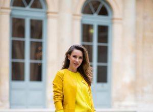 Alexandra Lapp, yellow trend, Milestone, Looxent, MYBC, Peter Hahn, The Attico, Hermes Kelly bag, Hermes, PFW2020, PFW, Paris Fashion Week, Womenswear Fall/Winter 2020/2021