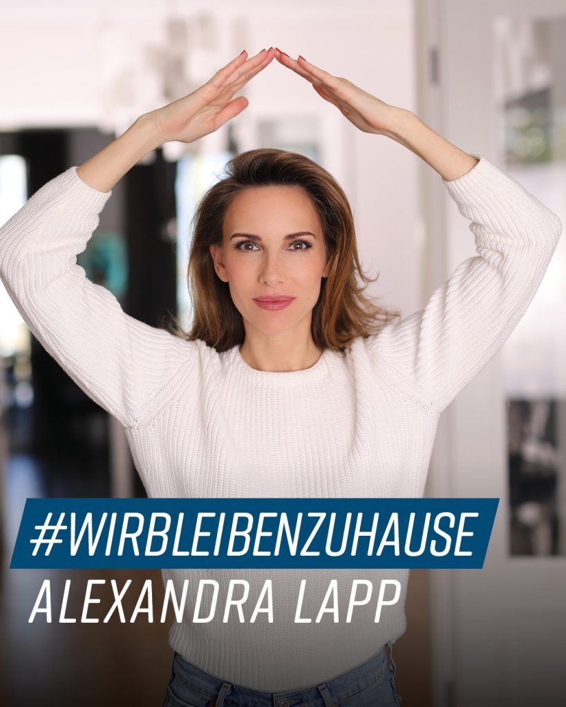 #StayHome | Alexandra Lapp showing her stay at home looks while staying in . #stayhome #stayingin Alexandra_Lapp_#StayHome_Bundesgesundheitsministerium