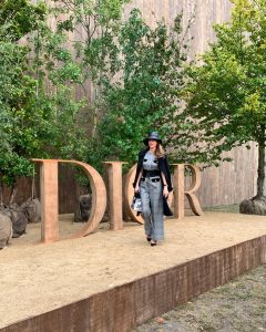 Paris, France: Alexandra Lapp is seen attending the DIOR SPRING-SUMMER 2020 Collection ready-to-wear fashion show in Paris, France during PFW 2019