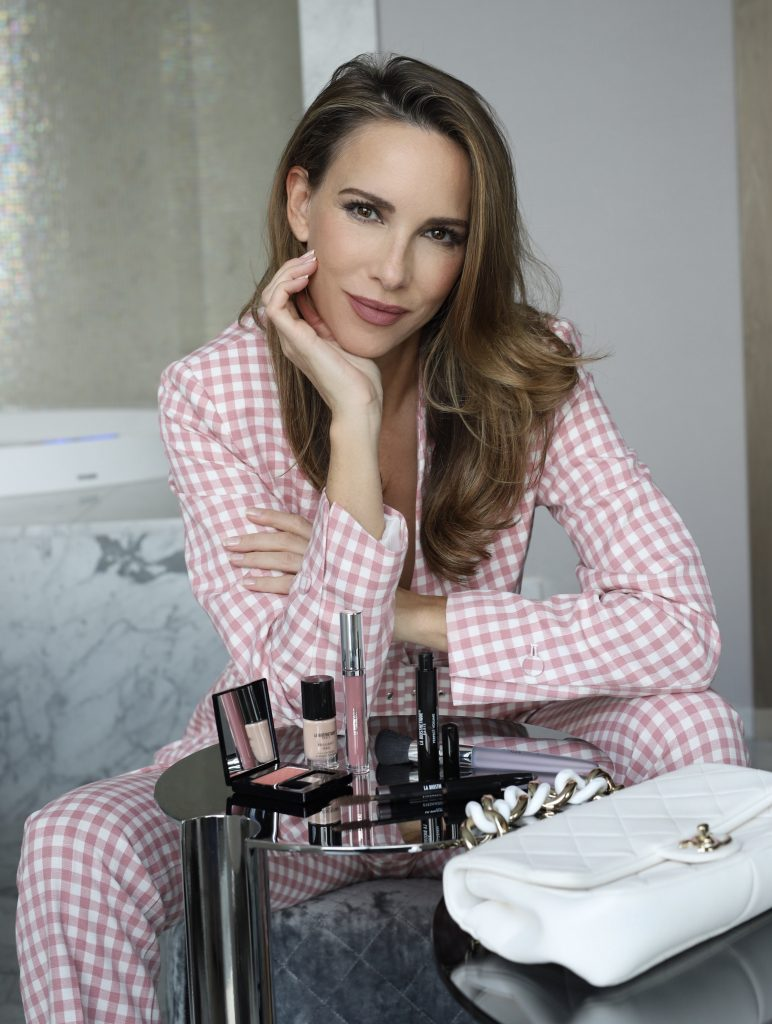 Alexandra Lapp spends relaxing days at THE FONTENAY with LA BIOSTHETIQUE PARIS.