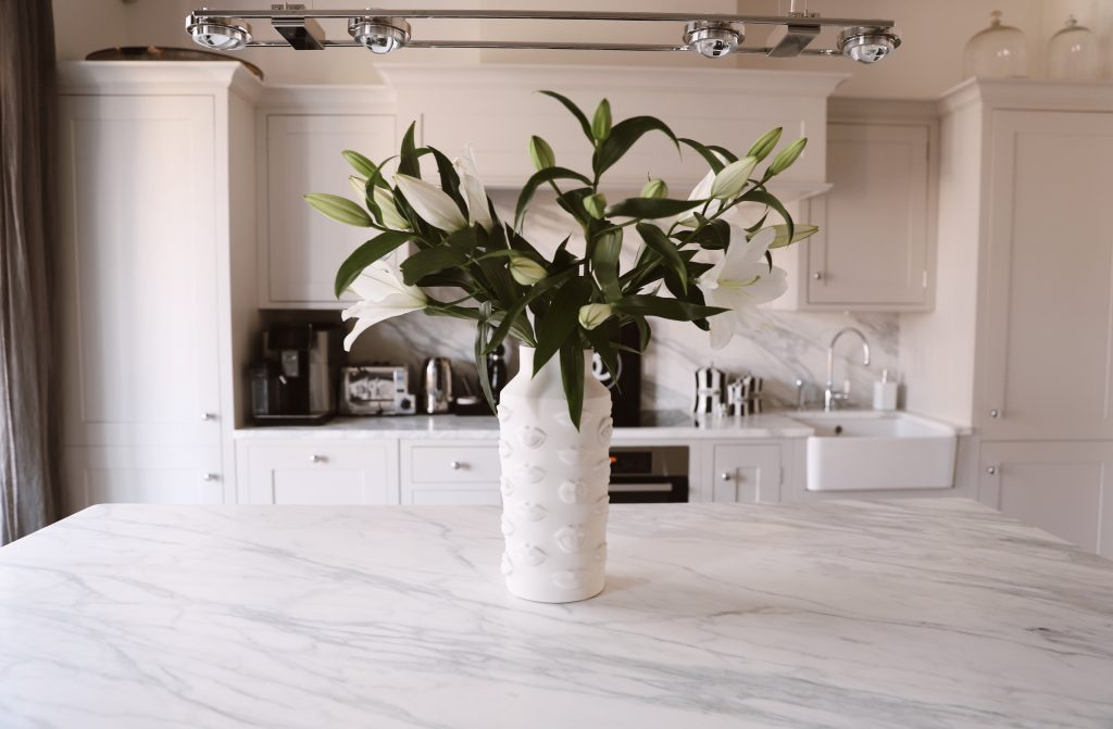 Alexandra Lapp is upgrading her kitchen surfaces with Naturstein Meyer
