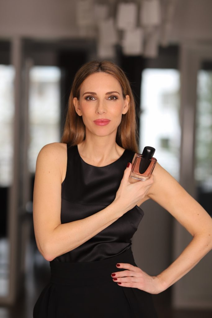 Alexandra Lapp feels strong, powerful, and feminine with the new Ginza Eau de Parfum by Shiseido.