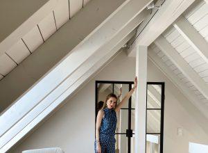 Alexandra Lapp is refurbishing her apartment in cooperation with Thelen Drifte, Furnierholz Düsseldorf, Caparol Icons, Loft FX, Parkett Dietrich.
