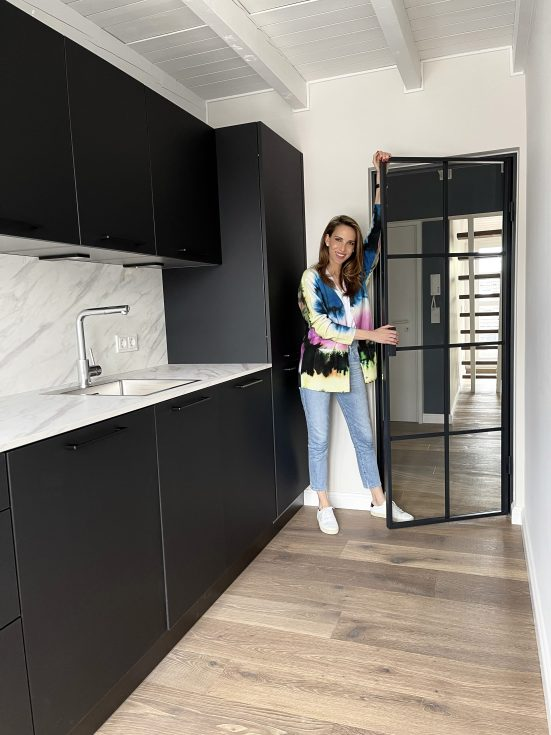 Alexandra Lapp, Thelen Drifte, apartment make-over, kitchen, cooking, Parkett Dietrich, Loft FX, refurbishment, homestyle, interior design, interior